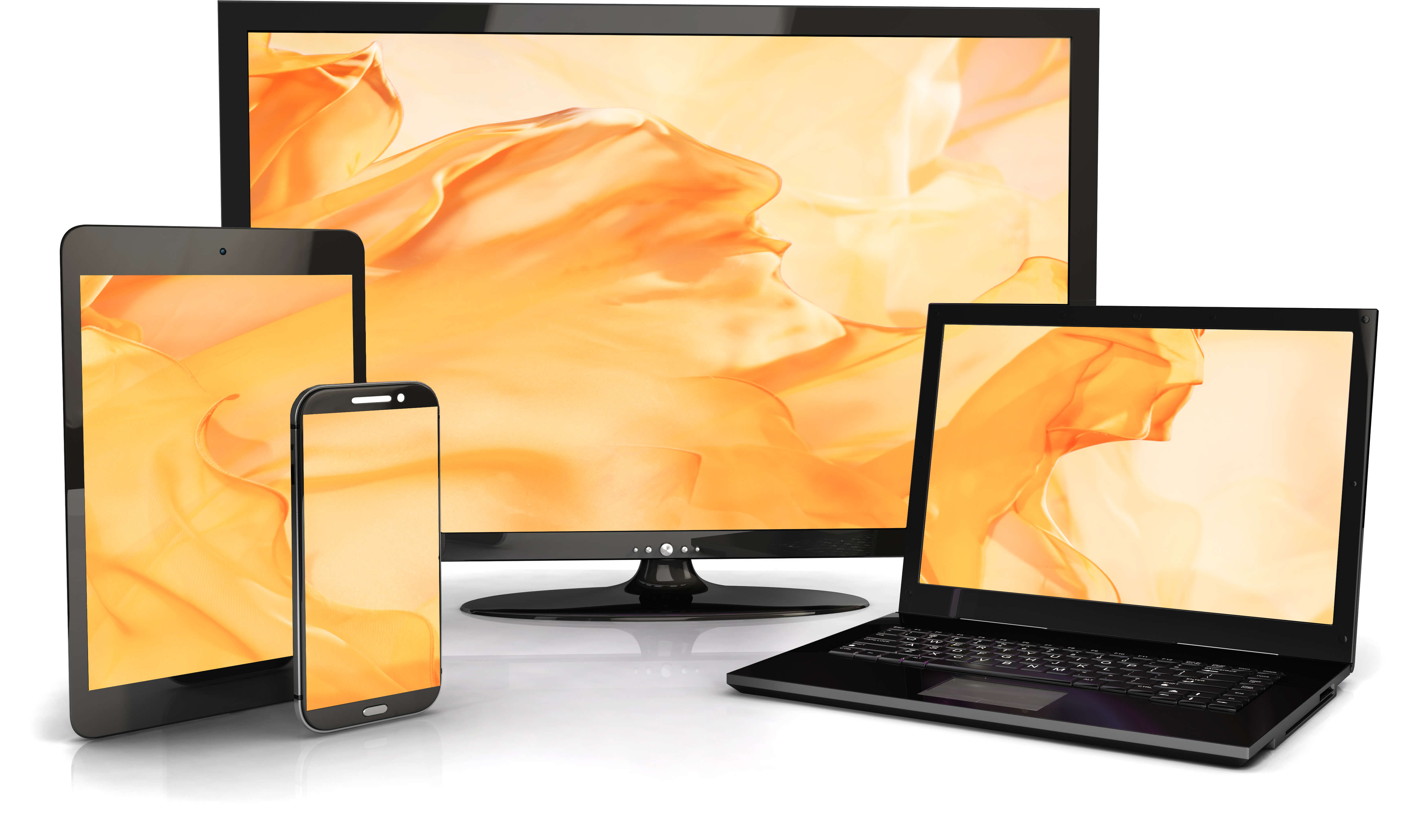 multiple devices with the same screensaver